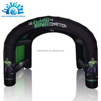 Blue Springs Manufacture Customized Arch inflatable air pole tents