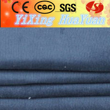 100% cotton navy bule corduroy fabric for lowel
