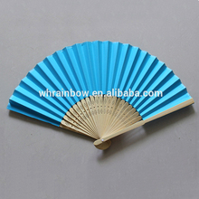 plain paper hand fans, perfect fans for weddings