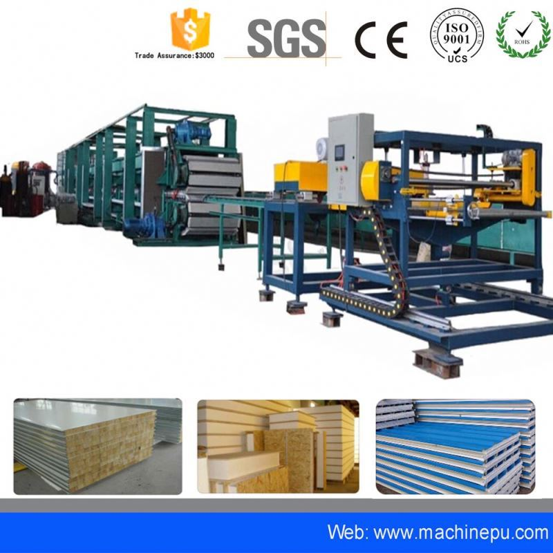 Polyurethane glass wool sandwich panel precast concrete wall panel making machine
