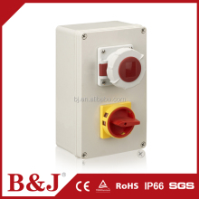 B&J 200x200x130mm Size ABS Plastic Enclosure Electrical Meter Box / Distribution Box