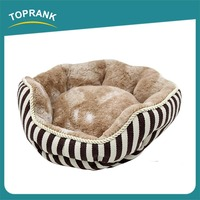 Free Samples Super Soft Plush Fur Fabric outdoor pet beds