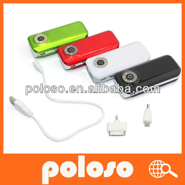 Universal portable power bank 5600mah power bank for samsung galaxy s2 /mobile phones