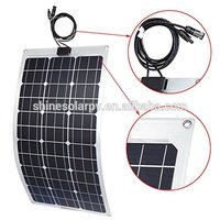 CE IEC TUV certificate mono solar cell 80w soft pv solar panel price for bangladesh