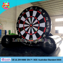 Giant golf inflatable dart game/inflatable soccer darts