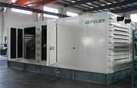 1000kW silent generator with Perkins engine