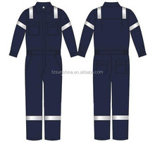 High Visibility Fire Proof Flame Retardant Clothing with reflective tape
