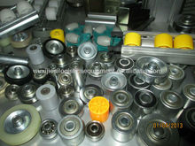 JS Rubber coat wheel, SR rubber coat roller guide, Roller track parts