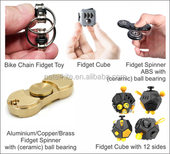 second generation custom bike chain fidget toy