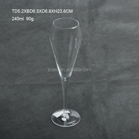 Wholesale classical decorative Champagne Goblets with high quality