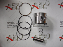 lifan 110cc piston ring Pit engine parts110cc 120cc 125cc Dished Thumpstar Loncin Lifan 52.4mm