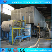 1760mm High Quality Corrugated Box Paper Making Line Machine Price, Waste Paper Recycling Occ Machine