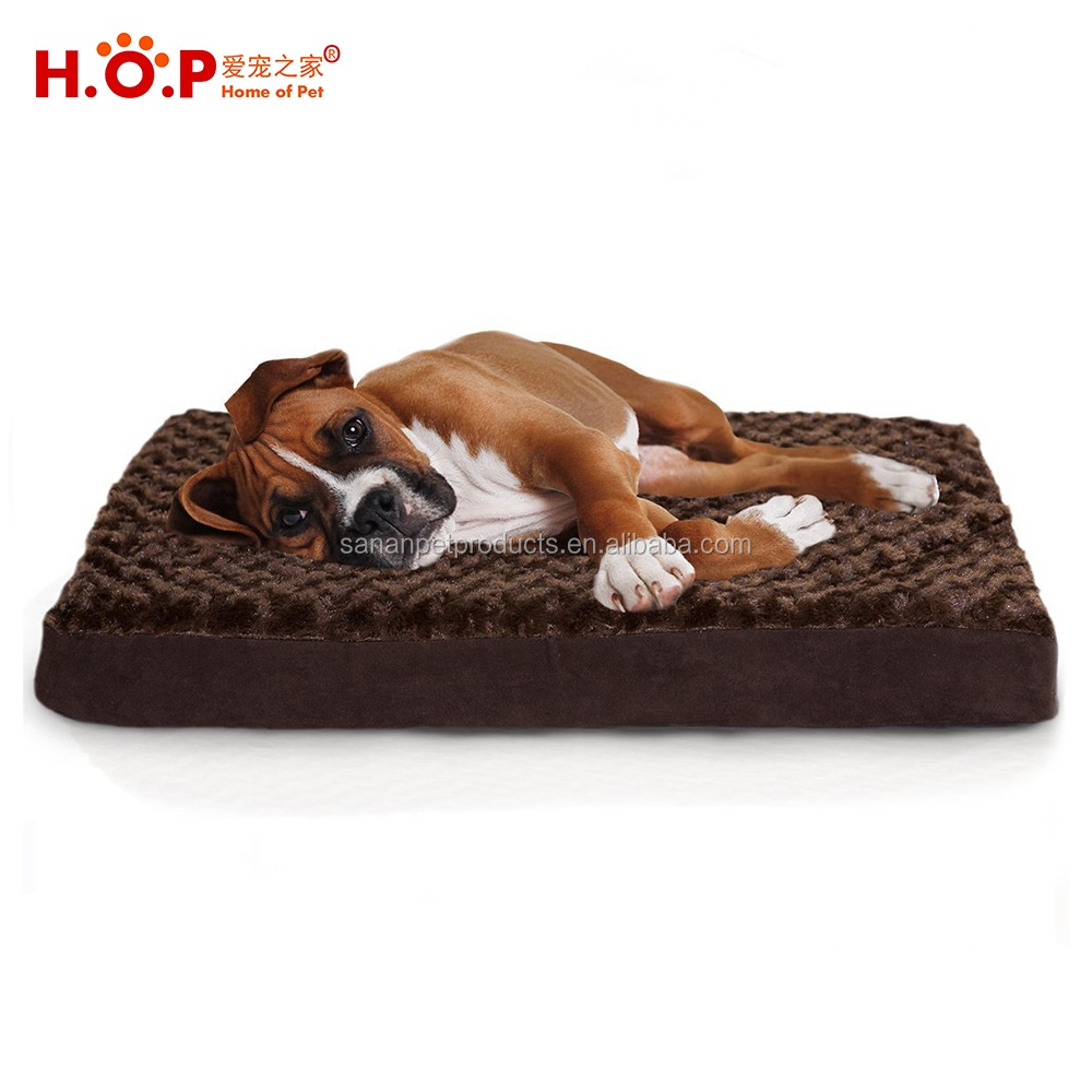 Wholesale Dog Beds Cushion Luxury Mattress Memory Foam Orthopedic Pet Bed for Dogs and Cats Cages