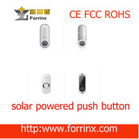 batteryless doorbell button no wiring water-proof CE FCC ROHS anti-inference