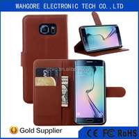 Leather Flip Cover For Samsung Case wallet case J2 J1JA9 A8 S5 S6 EDGE NOTE2 NOTE3 NOTE4 NOTE5