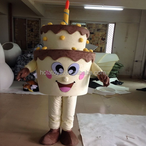 2016 Hola birthday cake costume/mascot costume for sale