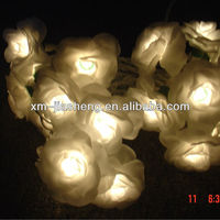 rose flower led light chain of china