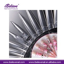 Full Cover Decorated Wholesale Nail Supplies Free Shipping Plain Artificial False Nail From Direct Factory