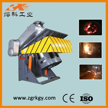 Easy operating 1 ton metal scrap smelting industrial oven for aluminium ingot