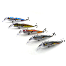 Hard Plastic Suspending Lure Minnow Group Baitball
