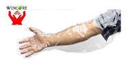 arm length disposable veterinary gloves