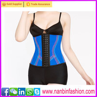 On sale sexy blue and coloful linellae western style corset
