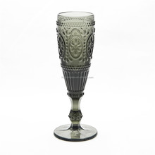 Glassware Type and Eco-Friendly Feature Champagne Glass Goblet Wholesale Handlmade Champagne Glass