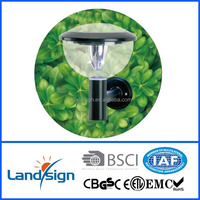 cixi landsign solar garden light with CE and ROHS certificate led outdoor porch light
