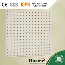hot sale 600x600 decorative acoustic ceiling tiles/perforated fiberglass ceiling