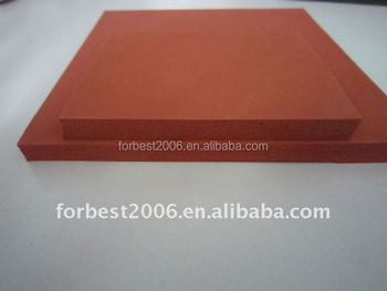 High quality closed cell heat press red silicone foam sheet,sponge sheet,rubber sponge sheet