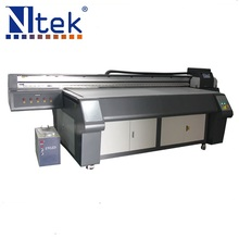 2017 Professional large format stable high resolution industrial digital LED inkjet uv flatbed printer for metal photo printing