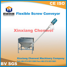 High quality used flexible CW grain screw conveyors