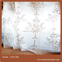 Wholesale Turkey curtains ,Embroidery Curtain For Home ready Embroidery sheer fabric