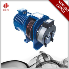CNED-200 load 630 kg pulley 400mm european elevator parts gearless traction machine price,elevator machine