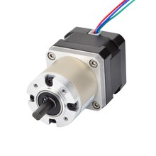 China Nema 17 23 34 Geared 12 Volt Stepper Motor with Economy Planetary Gearbox 17HS13-0404S-CG27