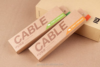 brown kraft boxes FOR Smart Phone Cable