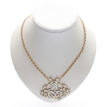 Buy direct from china wholesale light up necklace plating gold necklace