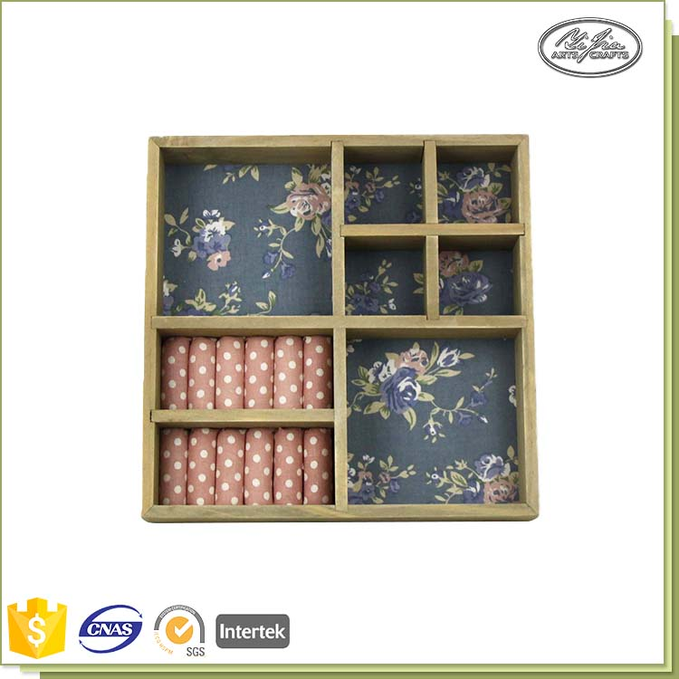 New Product Flower Graden Wholesale Wood Trays For Jewelry Storage&Display