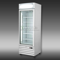 300-800 lITERS SINGLE GLASS DOOR ENERGY SAVING DISPLAY FREEZER