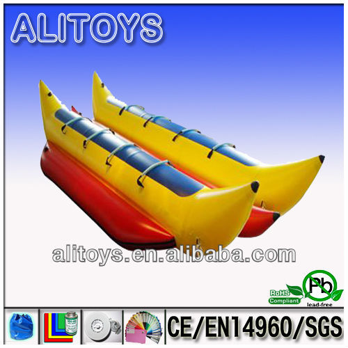 double inflatable banana boat for oceans holiday