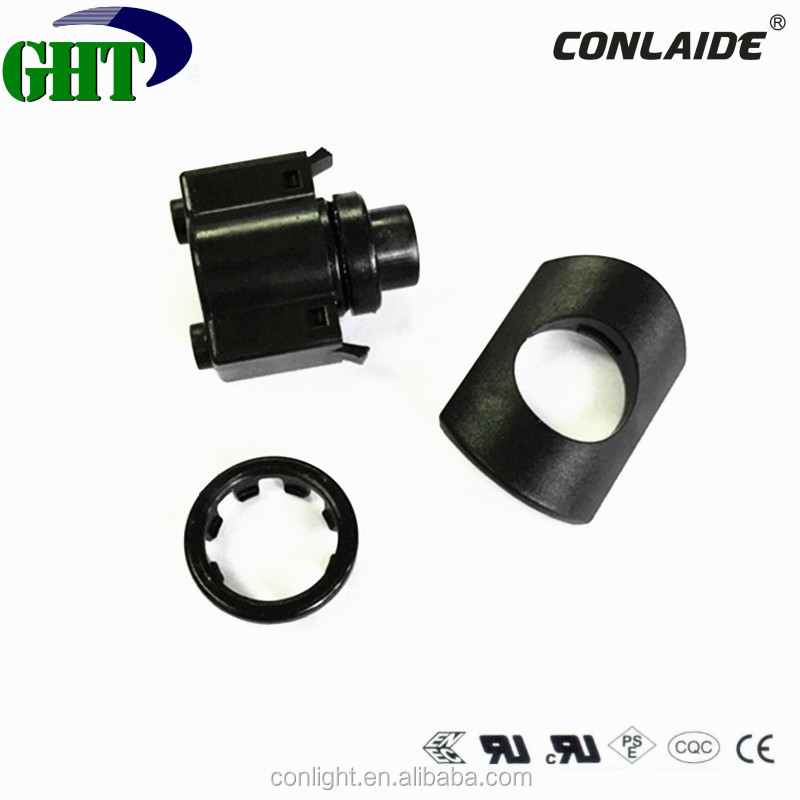 Single Pole Momentary Push Button Switch With DC 50V 1A