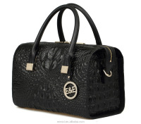 stylish west Europe shoulder and hand bags for ladies crocodile animal grain china Guangzhou E&E