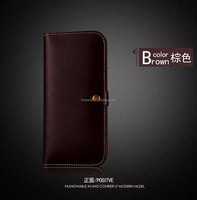 FL3699 New Fashion Luxury Genuine Leather Mobile Phone Case for iPhone 6 Wallet Case First Layer Leather Mobile Phone Cases