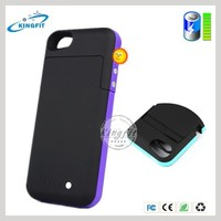 Factory Cheap 2500mah Portable Battery Charger Case for Iphone 5 Case