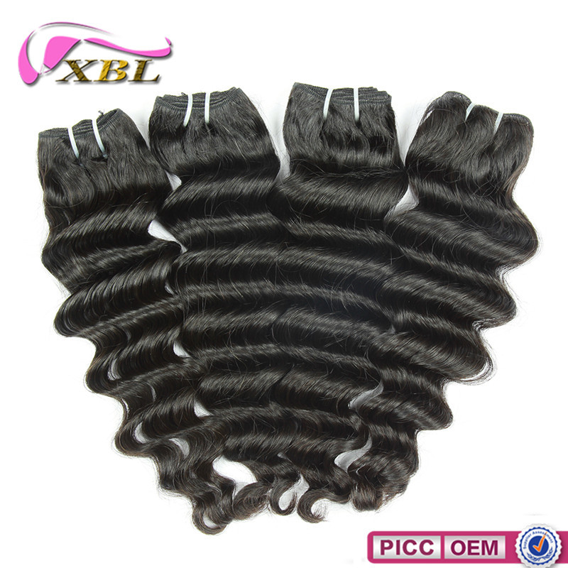 Golden Supplier Human Hair Weave Brazilian Hair Styling