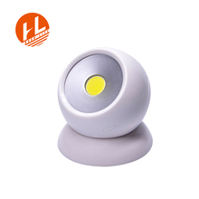 2017 New style Rotate 360 degrees Imitation monitor magnetic led work light, 3W COB camping tent light