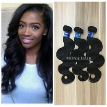 Pure Brazilian Body Wave Virgin Unprocessed Premium Now Hair Weave