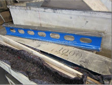 High quality cast iron straight edge with materal HT200/250/300