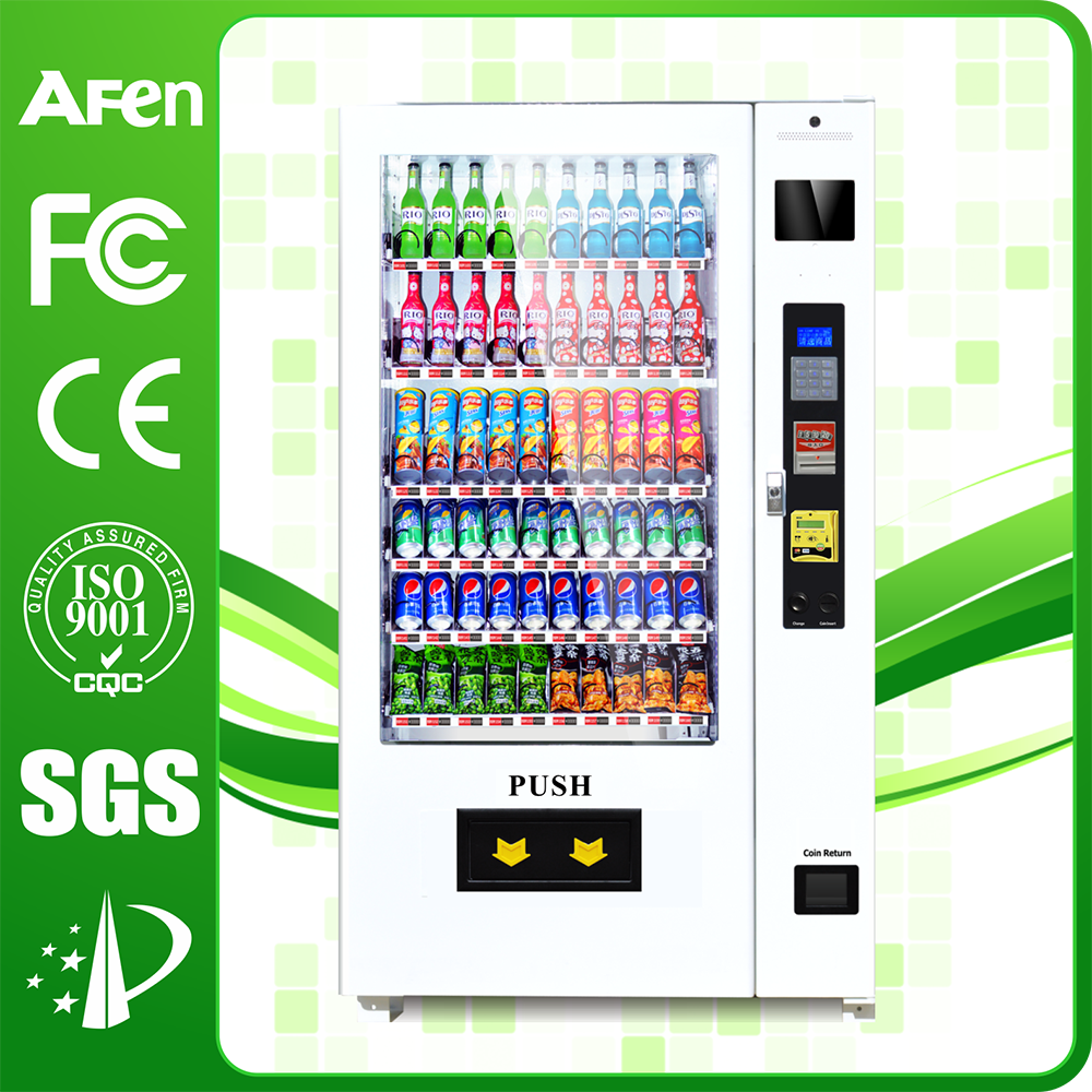 Hot sale Snack and Beverage Automatic Cold Drink Vending Machine for Sale