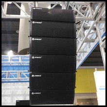 ND Neodymium speaker active dual 6inch/6.5inch powered line array system for China factory wholesale